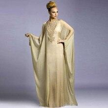 Современный арабский вечернее платье с длинным рукавом марокканские мода дубай стиль робы кафтан саудовская аравия абая вечерние платья