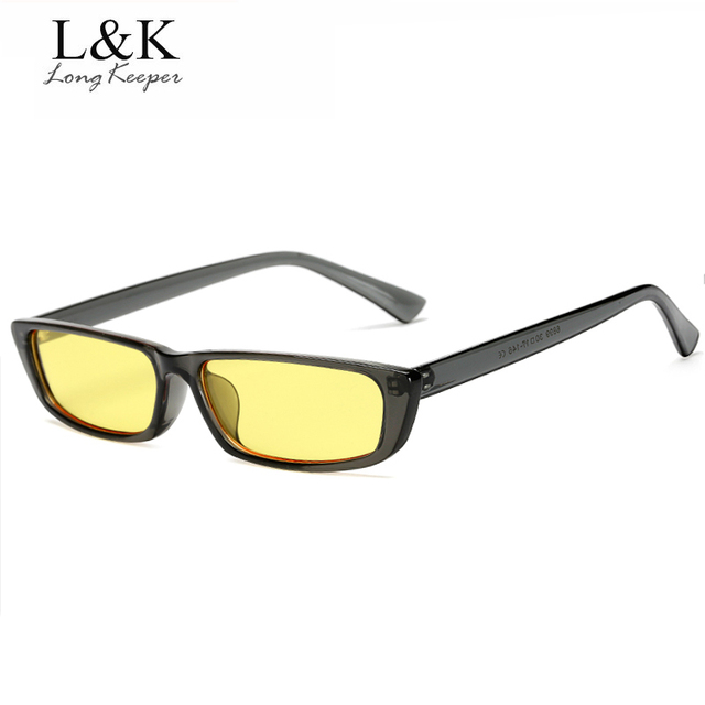 82e16c7a8b4 Long Keeper Men Sunglasses Unisex HD Yellow Lenses Sunglasses Night Vision  Goggles Car Driving Glasses Eyewear UV Protection