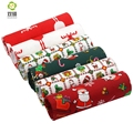 ShuanShuo Print Twill Cotton Fabric,Christmas Floral For DIY Quilting Sewing,Tissue Of Child,Sheet,Pillow Material,Half Meter