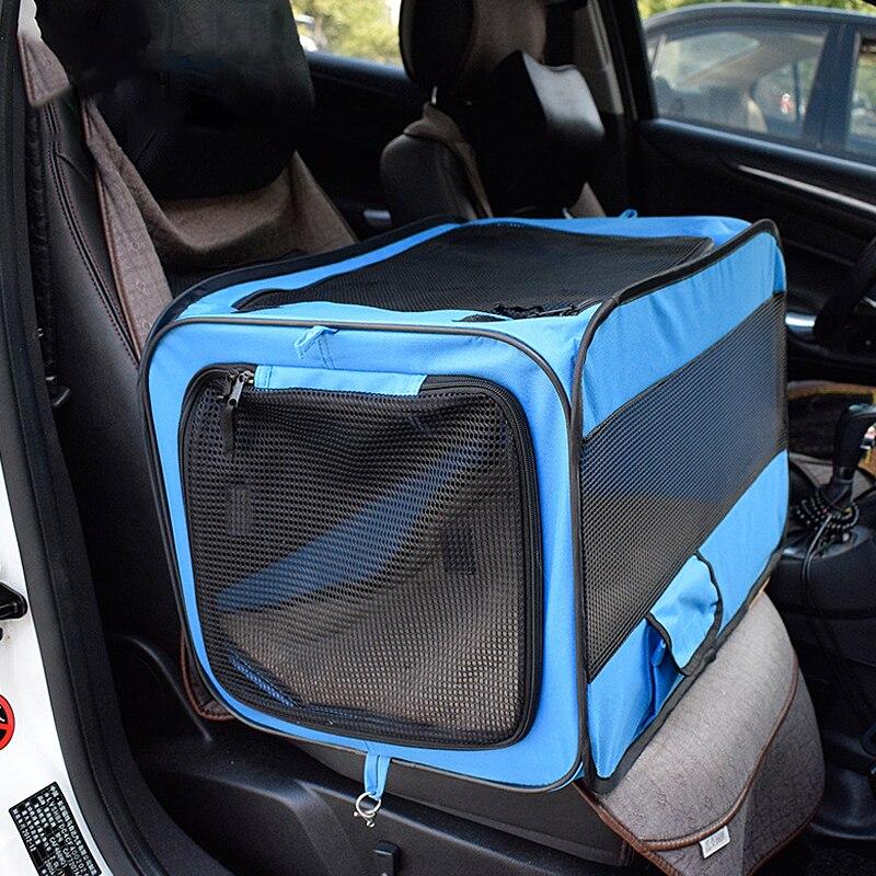 Sac de transport d'animaux de voyage | Voiture, sac panier boîte mode, respirant chat animaux, chiot sacs voyage extérieur chien, emballage transporteur accessoires