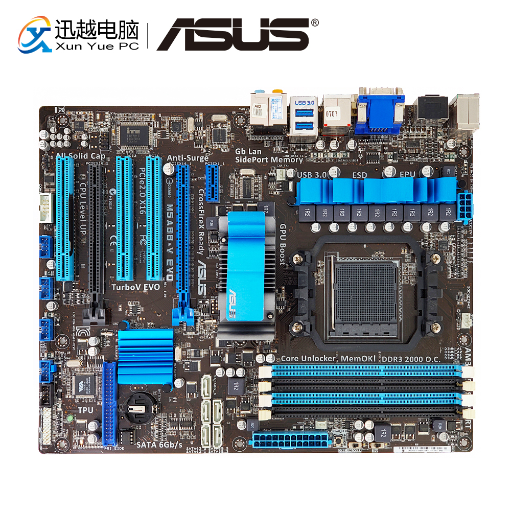 Asus M5A88-V EVO Drivers for PC