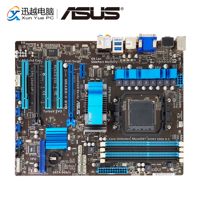 ASUS M5A88-V DRIVERS FOR WINDOWS 7