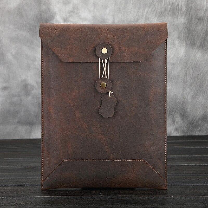Joyir 2019 Men Business Bags Men Handbag Men Large Capacity Coffee Business Bag Men Envelope Bag Laptop Bags Mens Briefcase
