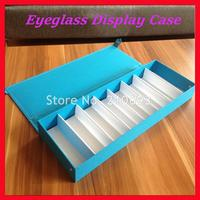 5 Colors Oxford Fabric Eyeglass Eyewear Sunglasses Storage Box Case Tray Display Hold 8pcs Of Glasses