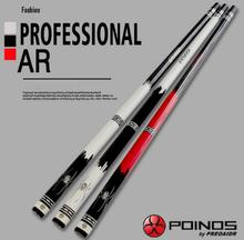 New Arrival POINOS Brand AR Billiard Pool Cues Stick Kit 13mm/11.5mm/9.5mm Tips Maple Durable Professional Cue China 2019