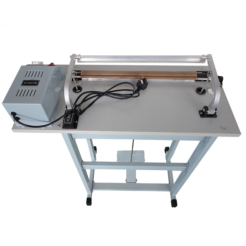 Foot Pedal Impulse Plastic Bag Sealer Heat Sealing Equipment Package Shrinking for Sood Electric Beverage Packaging Use SF-400Foot Pedal Impulse Plastic Bag Sealer Heat Sealing Equipment Package Shrinking for Sood Electric Beverage Packaging Use SF-400