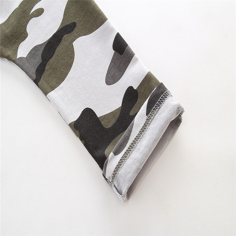 toddler boys clothing set Letter long sleeve T shirt Tops+Camouflage Pants Autumn Winter Children Kids Outfits Clothes Sets 10