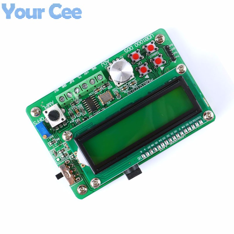 UDB1005S Function Signal Generator Source Frequency Counter DDS Module Wave 5MHz (6)