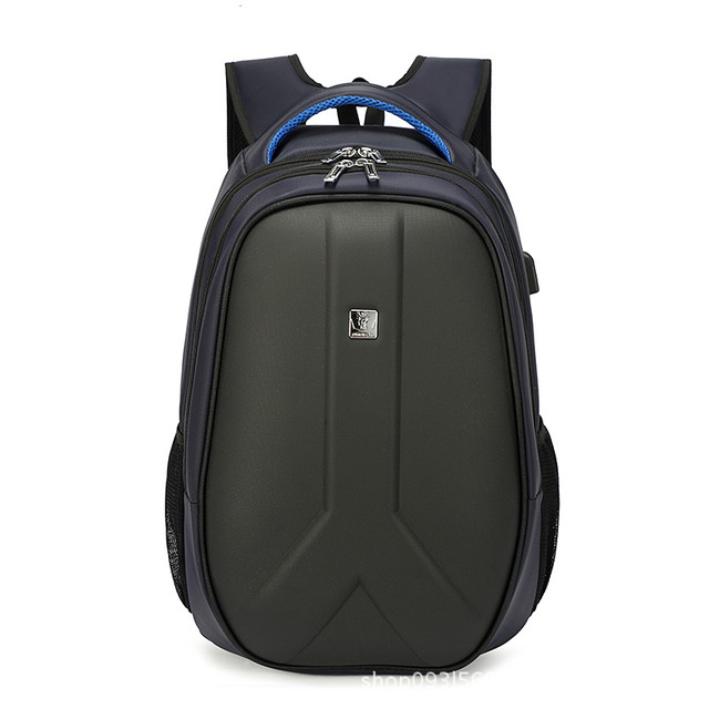 2018 ABS+PC Large capacity Laptop backpack Computer package Outdoor men s  Charging Port USB backpack cb5d430dc3
