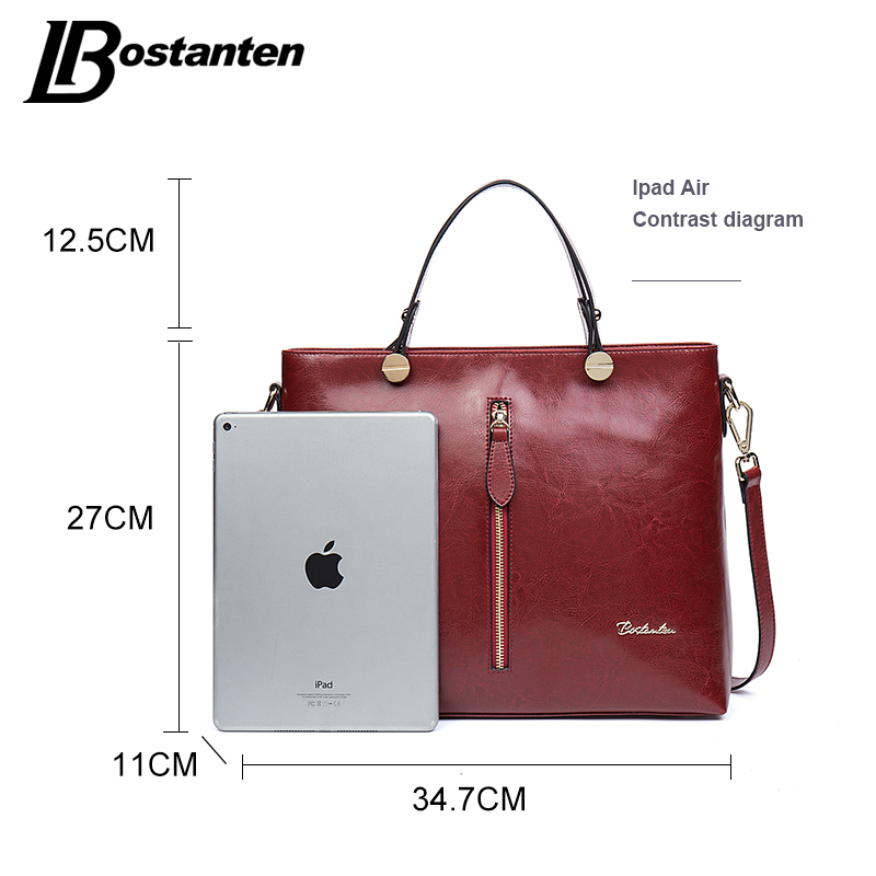 BOSTANTEN bolsos de diseño de alta calidad bolso de las mujeres de - Bolsos - foto 3