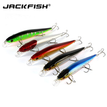 JACKFISH Big hard fishing lure 3 hooks 16CM/23G fishing bait minnow bass lure 5 pcs/lot fishing tackle artificial wobbler pesca