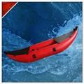 Оптовая продажа высокое качество гребля на байдарках, 2.5 м красный надувные байдарки для одного человека