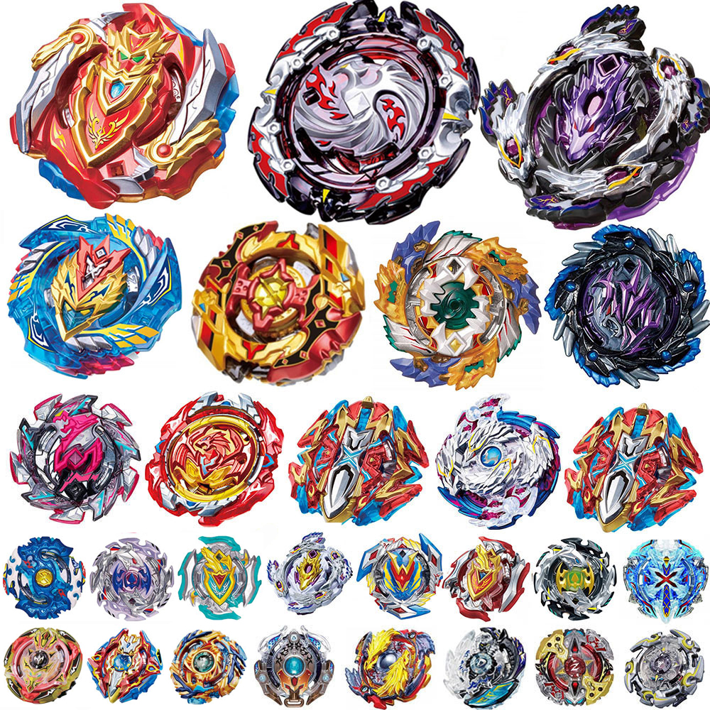 Top Launchers <font><b>Beyblade</b></font> Burst Toys <font><b>B</b></font>-<font><b>134</b></font> <font><b>B</b></font>-135 <font><b>B</b></font>-139 bables Toupie Bayblade burst Metal God Spinning Tops Bey Blade Blades Toy image