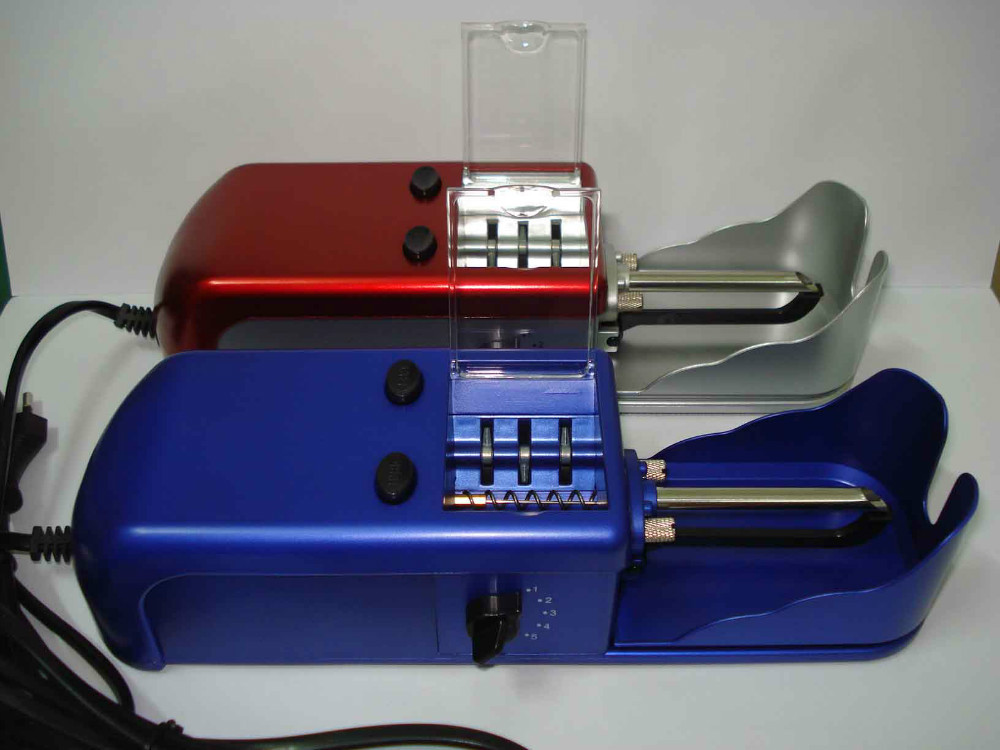 Free shipping electric cigarette filler machine/cigarette maker 220V EU adapter/110V US adapter