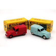 CIJ Atlas Lot of 2 Citroen 2CV 1:43 DAN-021 and DAN-019 Contemporary Diecast Toy Models Cars Collection Gift(China)