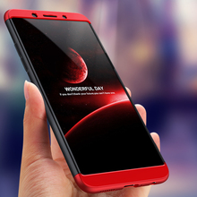 360 Degree Full Protection Hard Case For OPPO A83 Back Cover shockproof case + glass 5.7