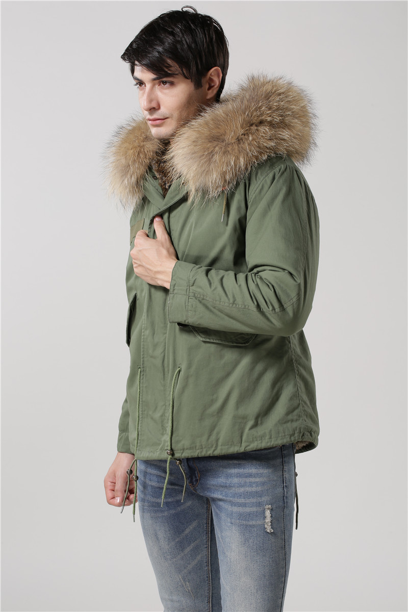 Hot sale male faux rabbit fur coats Italy desgin faux fur jackets ...