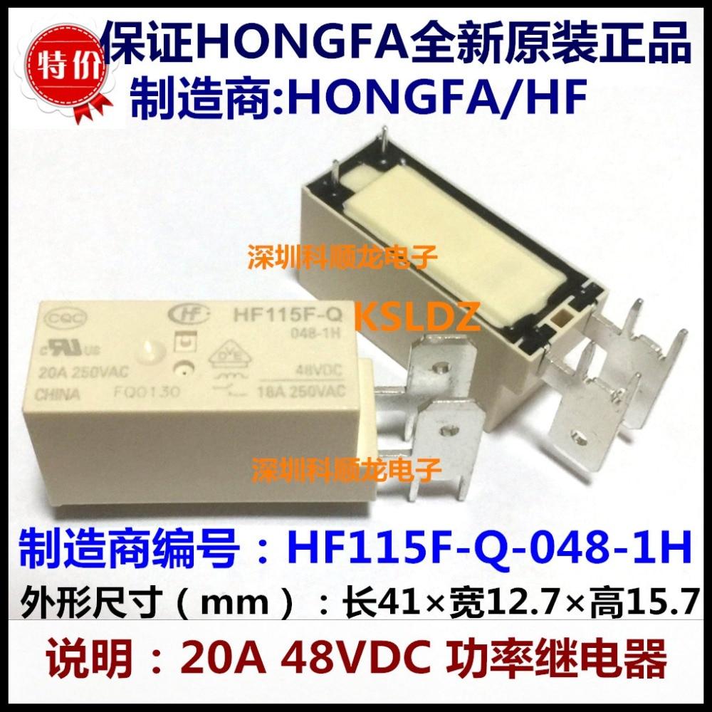 Free shipping lot 10pieces lot 100 Original New HF HF115F Q 048 1H JQX 115F Q