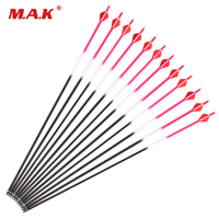 5 Color 30 Inches 6 12pcs Fiberglass Arrow Spine 600 Diameter 7 8 Mm For Recurve