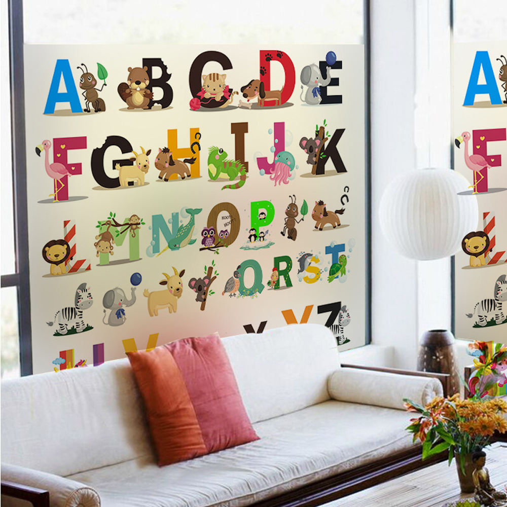 Buy 6 different size alphabet wall for Alphabet wall decoration