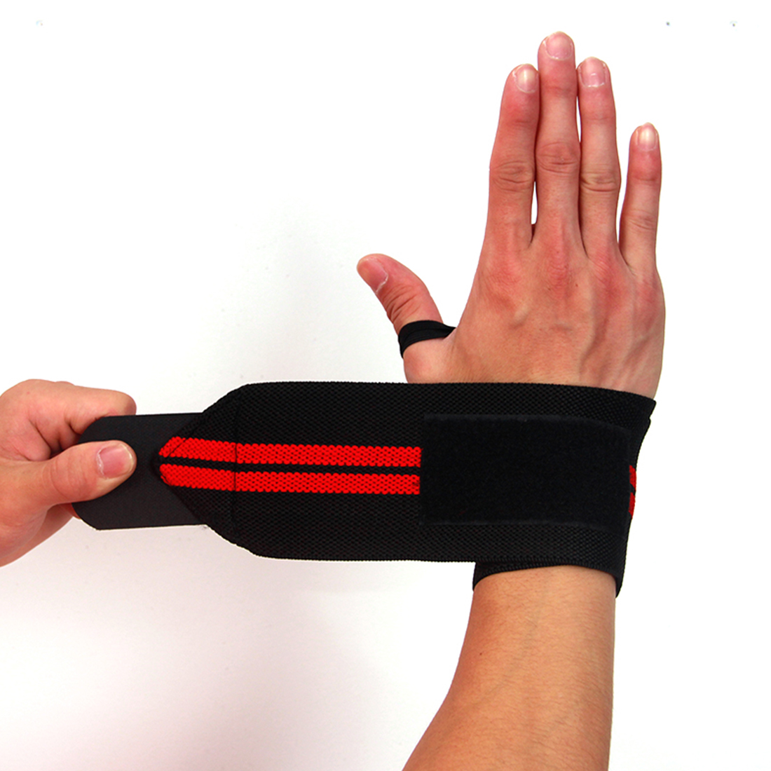 Weight-Lifting-Gloves Wraps Barbell-Straps Bar Grip Wrist-Support Hand-Protection Gym