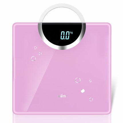 070455 high-end fashion design precision electronic weighing scales tempered glass home health scale
