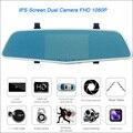 "For BMW e60 Car Rearview mirror video recorder Car DVR Dual Camera FHD 1080P Novatek 96655 5"" IPS Screen Car Black box"