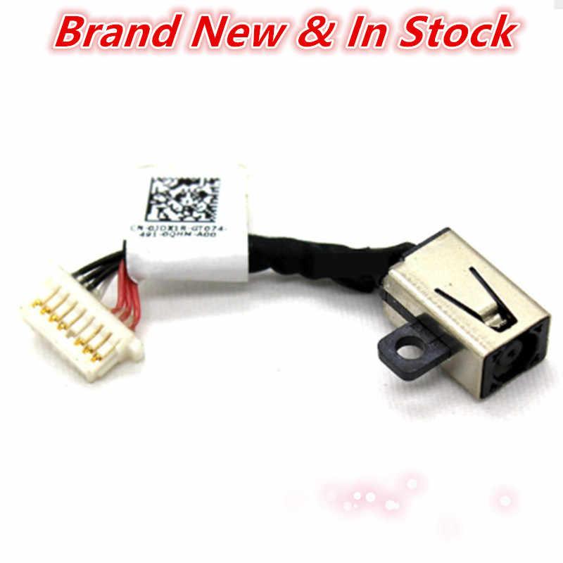 Ноутбук DC Jack power с разъемом для кабельного соединения порт провода жгут для Dell Inspiron 13 7353 7347 7348 7352 P57G