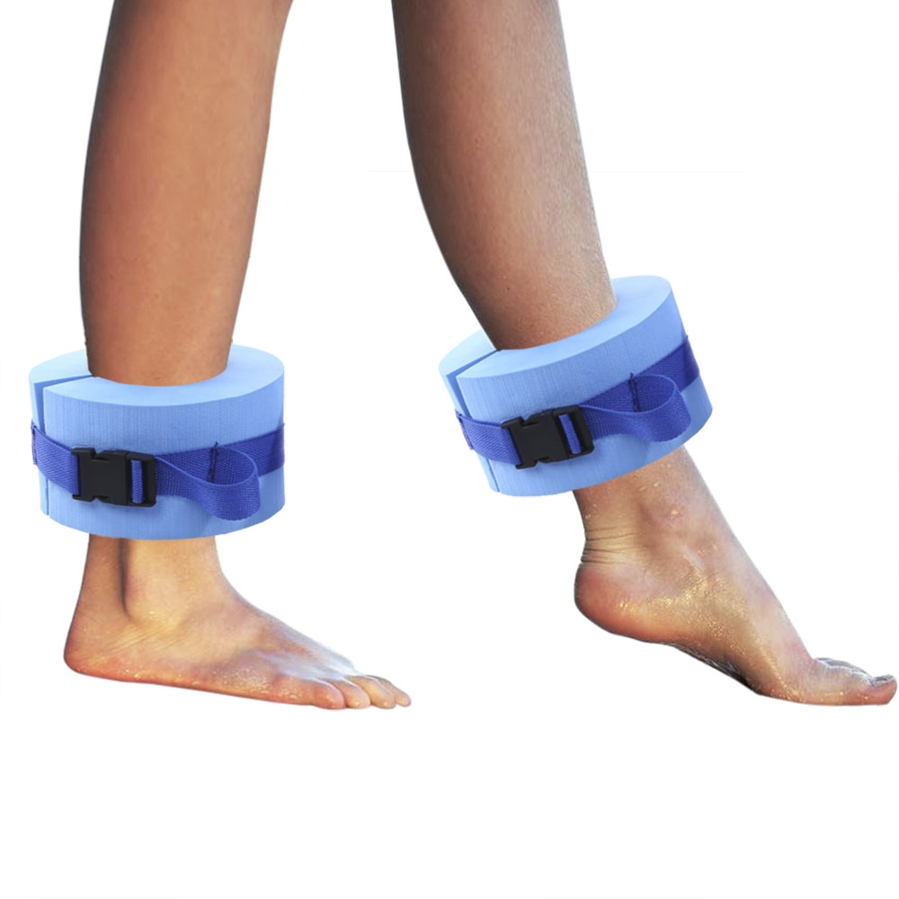 1 para Wasser Aerobic Schwimmen Gewichte Aquatische Manschetten EPS Schaum Material Schwimmen Helfer Moderate und Resistiven Gerät Rettungsring