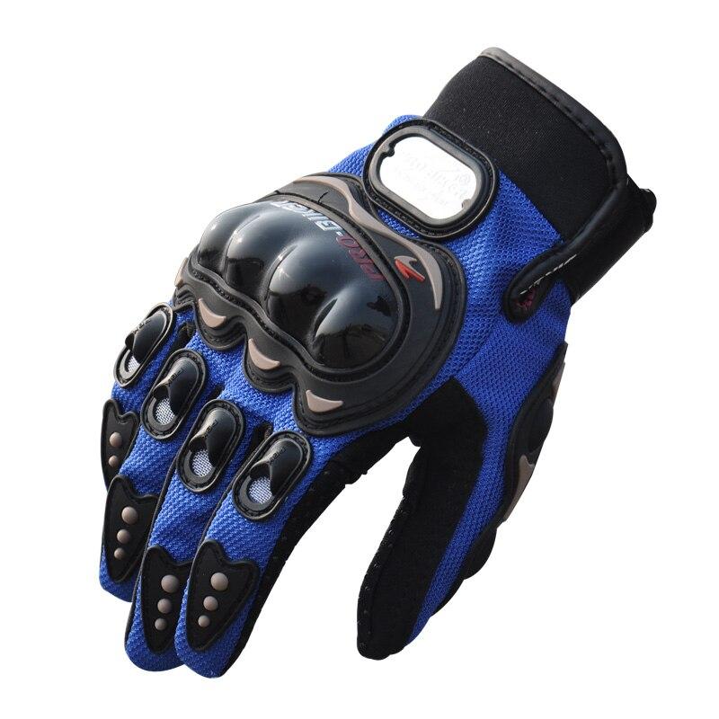 Prix pour Unisexe Plein Doigt Sports de Plein Air Gants De Vélo 3D Respirant Maille Tissu Hiver Chaud Glissement Équitation Moto Gants 3 Couleur
