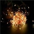Xtf2015 20 M 200 Leds LED Estrellado Luces con Control Remoto A Prueba de agua Luz del Alambre de Cobre para el Dormitorio Patio Banquetes de Boda DY-20