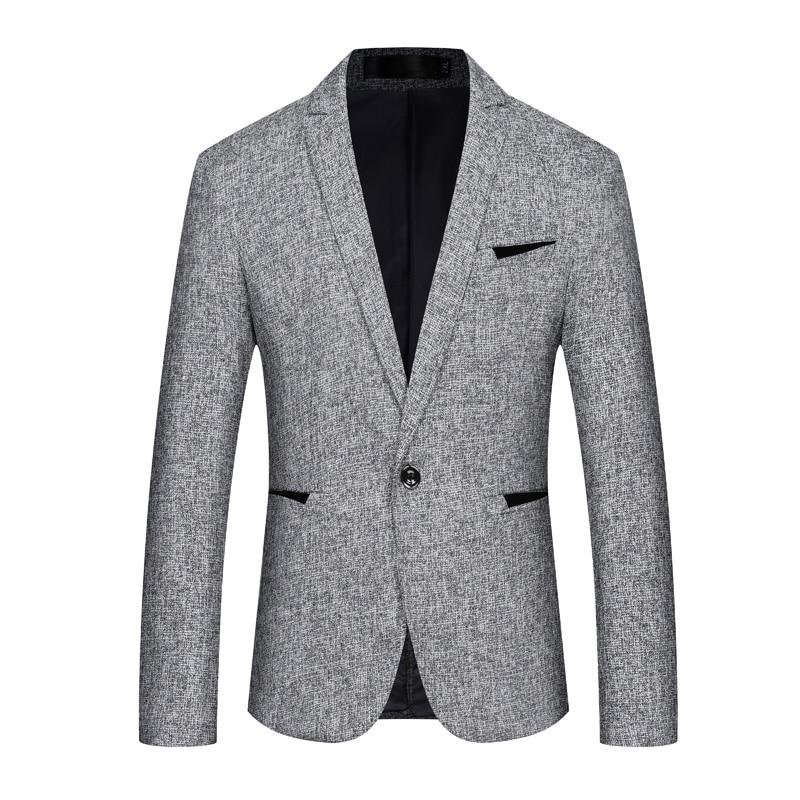 Abiti Slim 5xl Giacca Il Vestito Formato Di Nero blu Degli grigio Cappotti Casual  Uomo S Blazer Uomini Da Dell asia Fit Moda Sportiva pqwzFwg df18f71c771