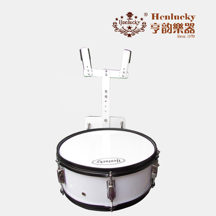 все цены на Henlucky Advanced Packboard Snare Drum Marching Drums White Color Musical Instrument Toca Cajon Baquetas Maple Wood Drum Sticks онлайн