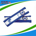 2 шт. синий челси плеча площадку ремня безопасности плеча челси авто ремень безопасности чехол для футбольной команды герб поклонники