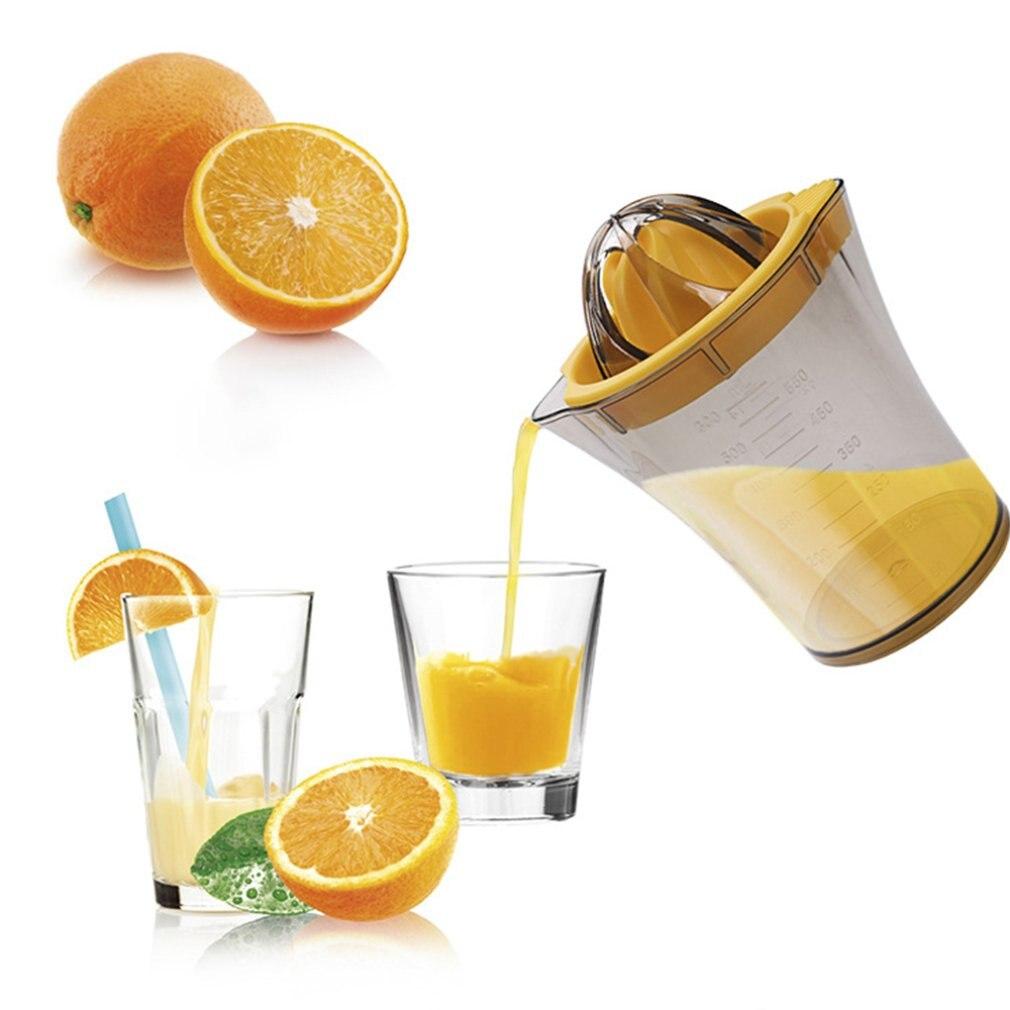 Портативный ручной соковыжималка оранжевый Лимон Цитрусовые соковыжималка Ручной пресс er органический Мини соковыжималка