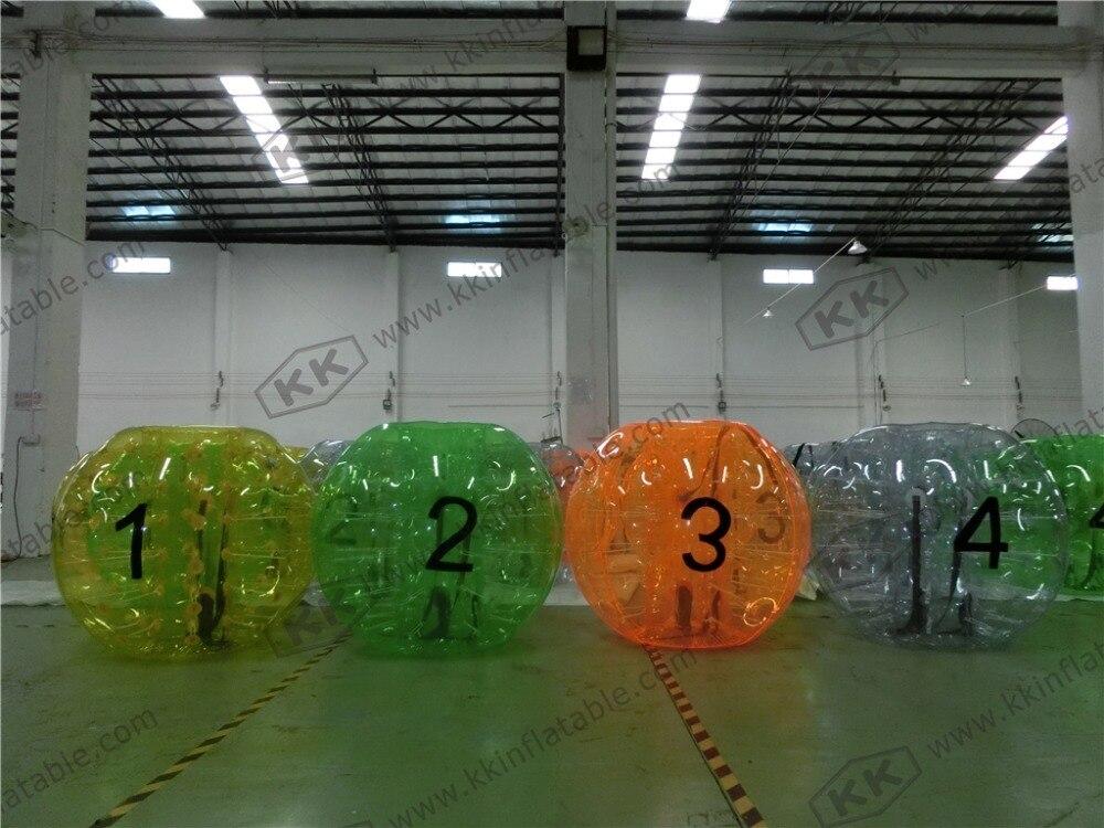 Offres spéciales balle pare-chocs gonflable drôle pour enfants jeu de sport gonflable balle pare-chocs à l'extérieur des jeux de jeu