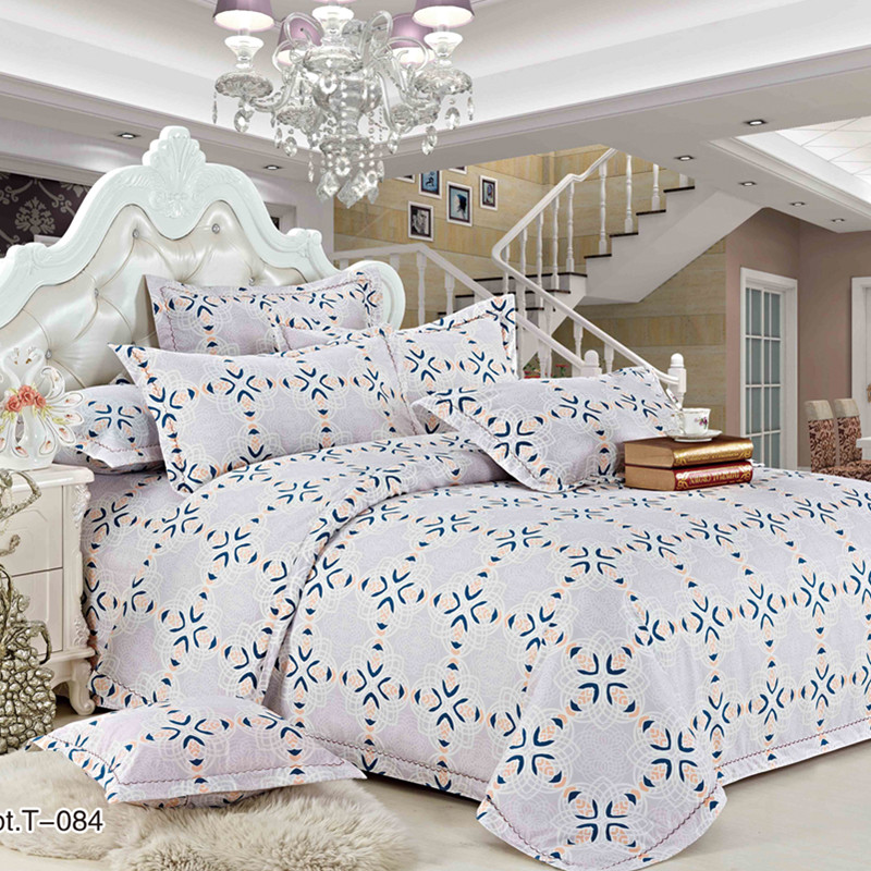 Duvet Cover With Pillow Case Quilt bed Cover Bedding Sets Single/Double/King/Queen Size Adults Children cotton satin Quilted