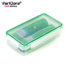 2PCS/LOT VariCore VTC6 3.7V 3000mAh 18650 Li-ion Battery 30A Discharge for US18650VTC6 E-cigarette batteries+Storage Box