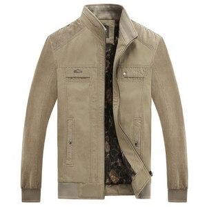 Image 4 - Куртка LOMAIYI Мужская зимняя, жакет из чистого хлопка, с воротником стойкой, флисовая подкладка, повседневная верхняя одежда, BM290