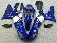 Injection molding kit for YAMAHA R1 1998 1999 fairings blue white YZF R1 98 99 fairing set TT93
