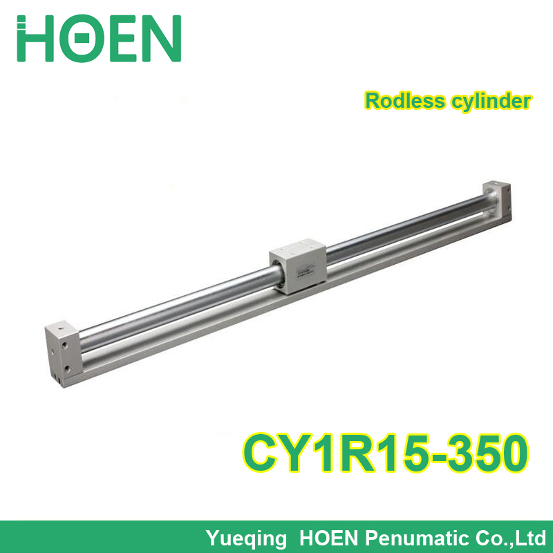 CY1R15-350 SMC type Rodless cylinder 15mm bore 350mm stroke high pressure cylinder CY1R CY3R series CY1R15*350