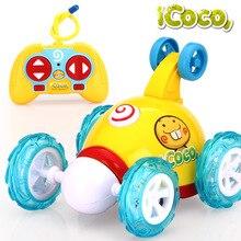 Original BBGUN001-A913 Stunt Flips RC Car Kids Electric Toys Lovely Remote Control Drift Car Truck Carrinho De Controle Remoto