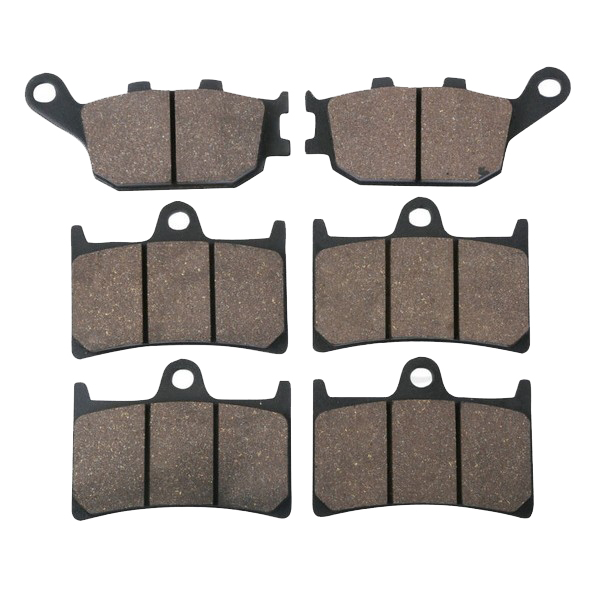 FRONT REAR BRAKE PADS FITS FOR YAMAHA R1 YZFR1 YZF-R1 2004 2005 2006 FRONT REAR full set 3pcs motorcycle new black gold 320mm 220mm front rear brake discs rotors rotor for yamaha yzf r1 2004 2005 2006 04 06