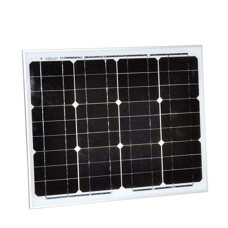 Paneles Fotovoltaicos 12v 20w Energia Solar Charger Bateria Cell Monocrystalline Fan Light Portable