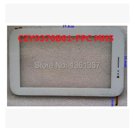 Original 7 inch tablet capacitive touch screen CZY9370B01-FPC MHS free shipping