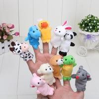 100 шт./лот животных пальцем пальцем Cycle игрушка кукла детские куклы бесплатная доставка