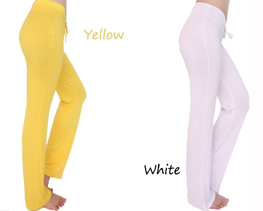Yellow and White