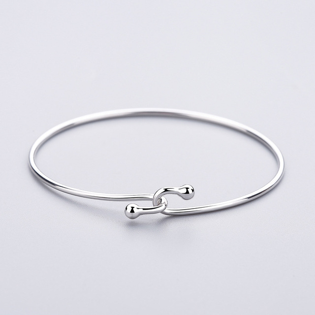 925 Sterling Silver Wristband Bracelet