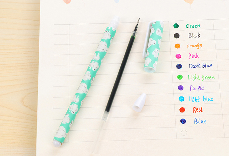 Ultimate Deal¹Gel-Pen-Set Office-Supply Caneta Kawaii Stationery Colorful School 10pcs for Writing-Gift