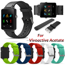 24mm Frontier classic Watch Band For Garmin Vivoactive acetate smart Sports wristband replace watchband Accessories